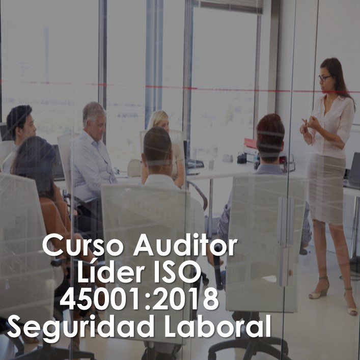 Curso AUDITOR INTERNO ISO 45001:2018 Seguridad Laboral